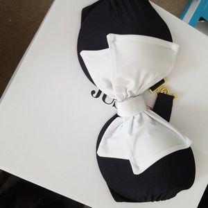 36d victoria secret bikini top black bow
